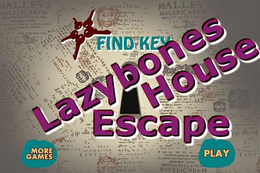 LazybonesHouseEscape poster