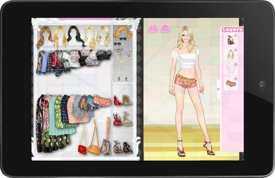 Girl Dress Up: Letha screenshot 1