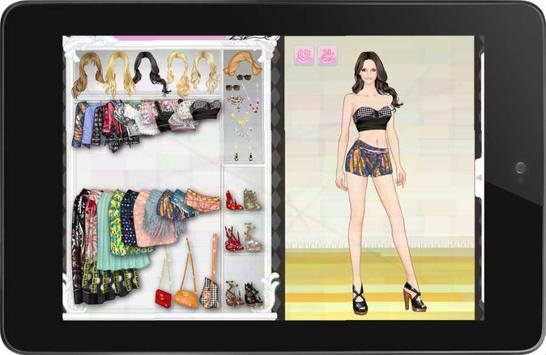 Girl Dress Up: Letha screenshot 4