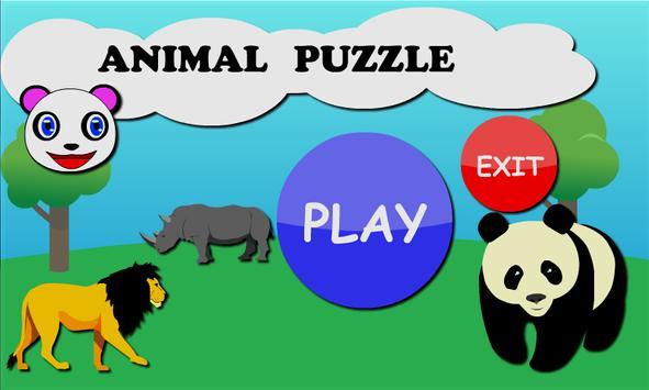 Panda Puzzle Kids poster