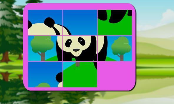 Panda Puzzle Kids screenshot 1