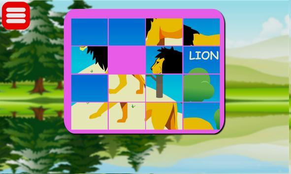 Panda Puzzle Kids screenshot 8