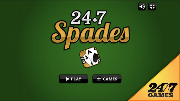 247 Spades poster