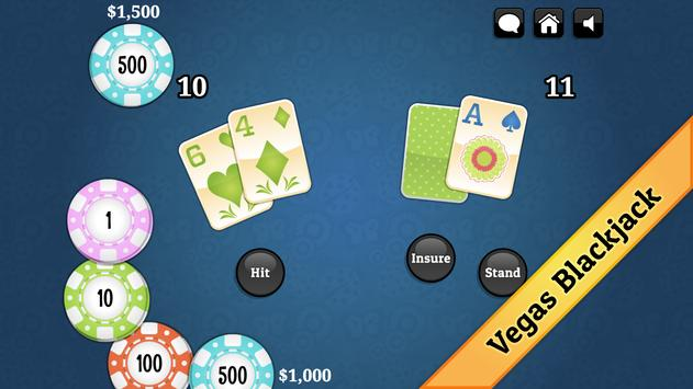 Spring Blackjack screenshot 1