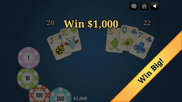 Spring Blackjack screenshot 2