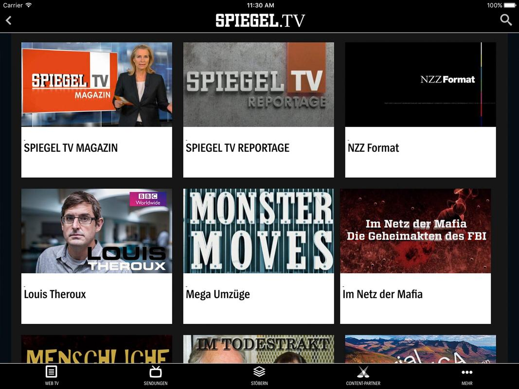 Spiegel tv apk baixar gr tis entretenimento aplicativo for Spiegel tv is