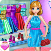 Dress Up Games Twin Sisters icon