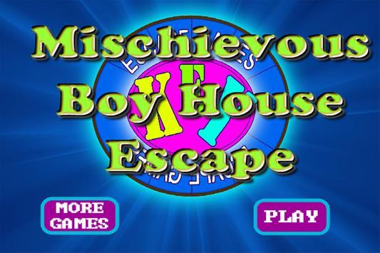 MischievousBoyHouseEscape poster