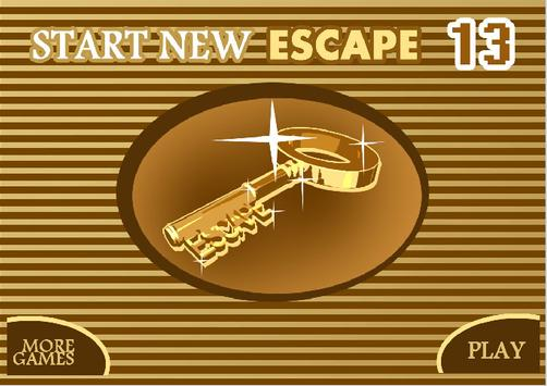 START NEW ESCAPE 013 poster
