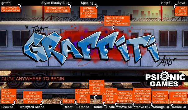 That Graffiti App poster