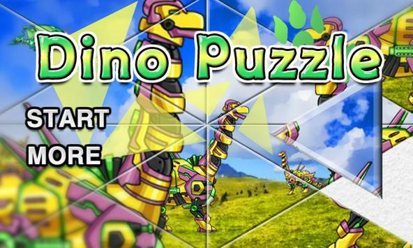 Dino Robot Jigsaw Puzzle poster