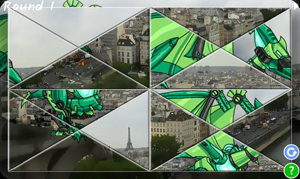 Dino Robot Jigsaw Puzzle screenshot 1