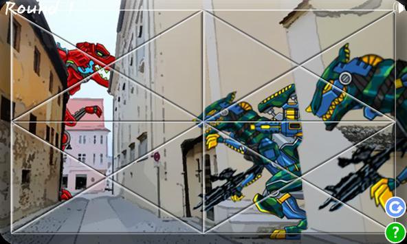 Dino Robot Jigsaw Puzzle apk screenshot