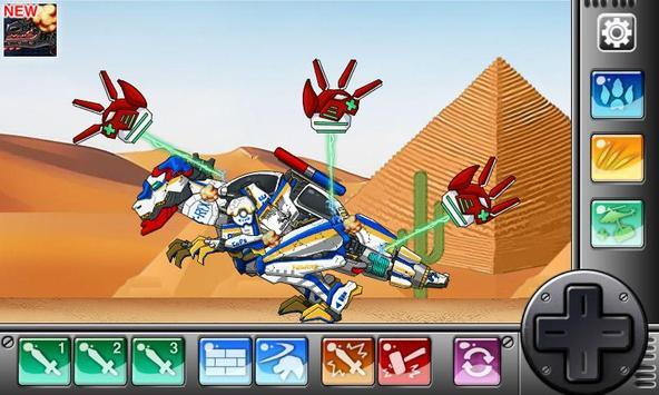 Ankylosaurus - Combine! Dino Robot screenshot 5
