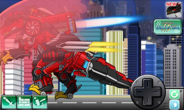 T-rex the highway - Dino Robot apk screenshot