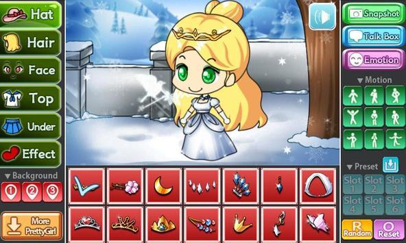 Snow Princess Pretty Girl poster