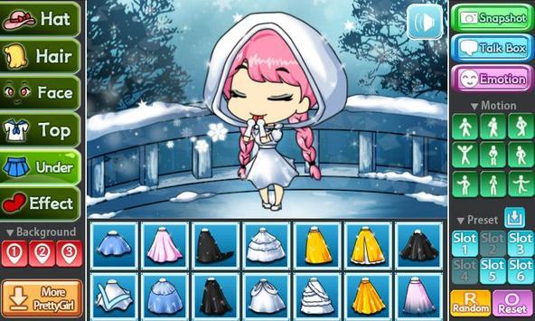 Snow Princess Pretty Girl screenshot 1