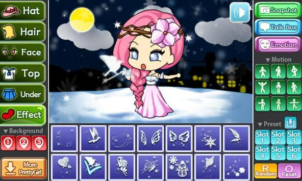 Snow Princess Pretty Girl screenshot 2