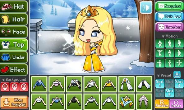 Snow Princess Pretty Girl screenshot 3