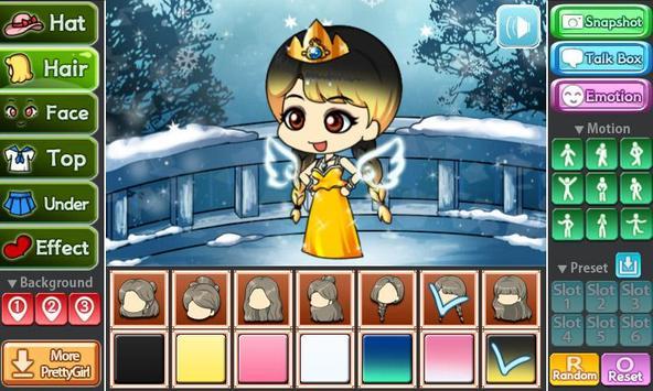 Snow Princess Pretty Girl screenshot 4