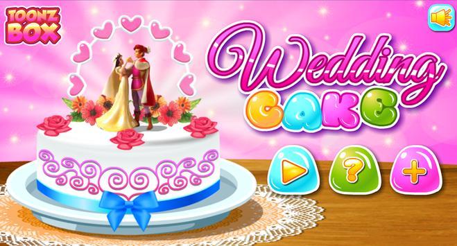 Wedding Cake - Cooking Game poster