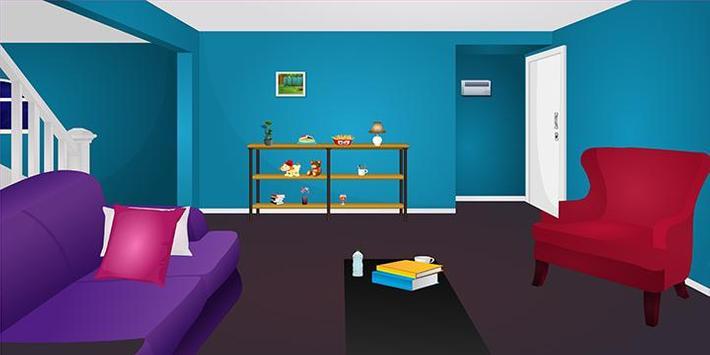 Escape games_Blue Room escape screenshot 1