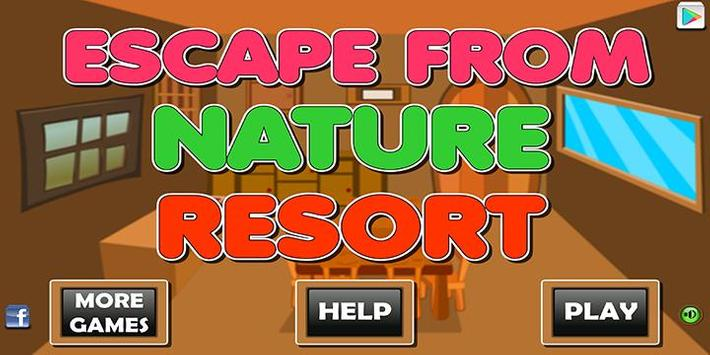 Escape games_FromNature resort poster
