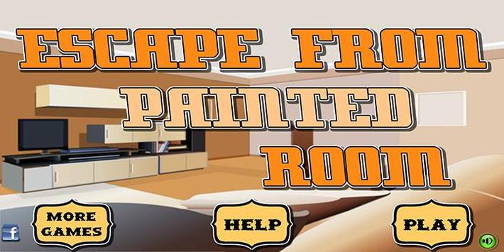 Escape games_From painted room poster