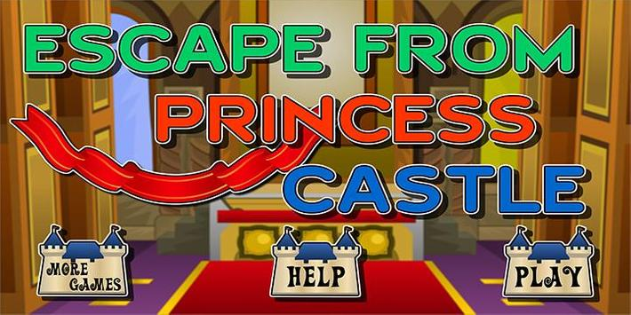 Escape Game Princess castle poster