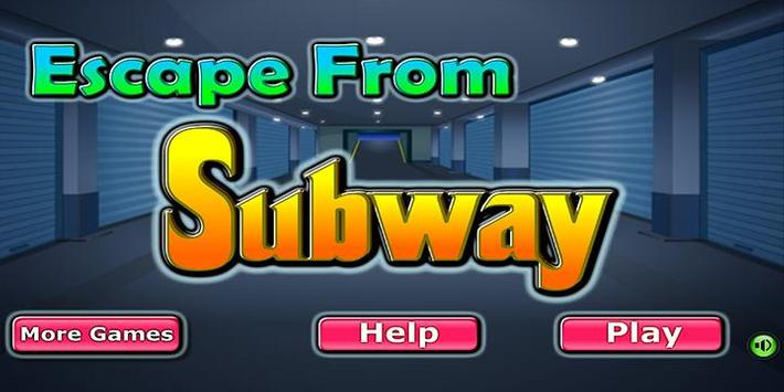 Escape game_Escape from subway poster