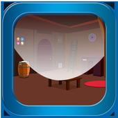 Escape games_wooden complex icon