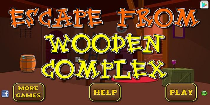 Escape games_wooden complex poster
