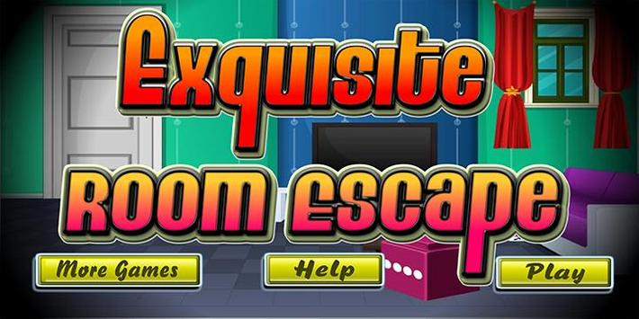 Escape game_Exquisite room poster