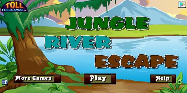 Escape game_Jungle riverescape poster