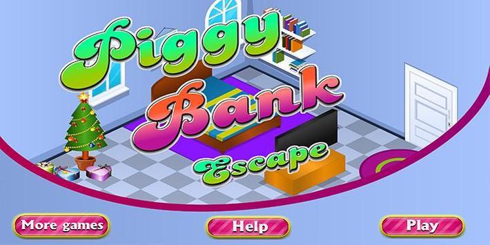 Escape Games Piggy Bank poster