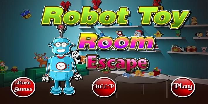 Escape game_Robot Toy Room poster