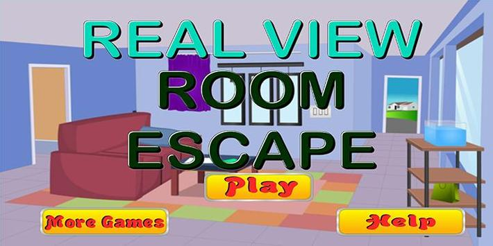 Escape game_Real view room poster