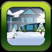 Escape games_Winter house icon