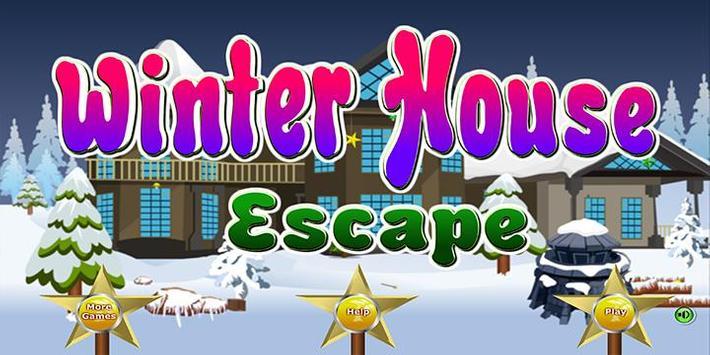Escape games_Winter house poster