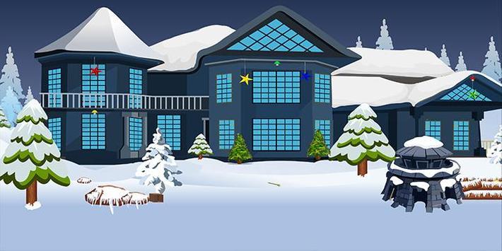 Escape games_Winter house apk screenshot