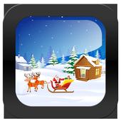 Escape games_santa sled escape icon