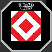 Tsukuda's square icon