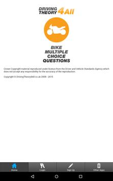 DT4A Bike Theory Test apk screenshot