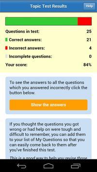 DT4A PCV Theory Test 2018 apk screenshot