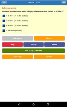 DT4A PCV Theory Test apk screenshot