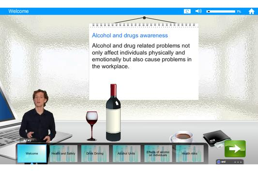 Alcohol and Drugs e-Learning screenshot 11
