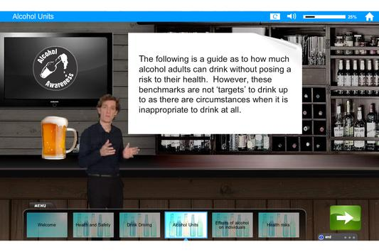 Alcohol and Drugs e-Learning screenshot 2