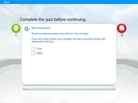 Lone Worker e-Learning screenshot 5