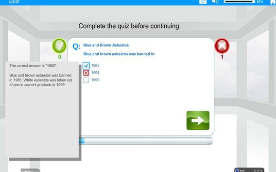 Welfare Reform Act e-Learning screenshot 13