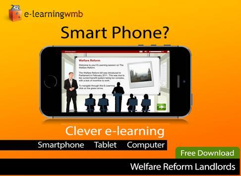 Welfare Reform Act e-Learning screenshot 5
